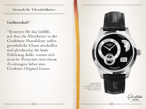 <span>Deutsch für Uhrenliebhaber.</span><i>→</i>