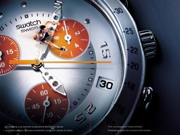 <span>Swatch Olympics Edition Athen.</span><i>→</i>